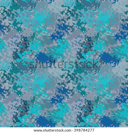 Abstract art grunge colorful seamless pattern. Background texture, pant spots, brush strokes, distressed