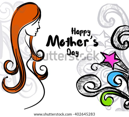 Happy Mother's Day: Mother's Day Beautiful Coloring Book For Adults