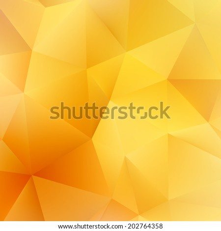 Abstract Autumn geometric shapes triangle. plus EPS10 vector file