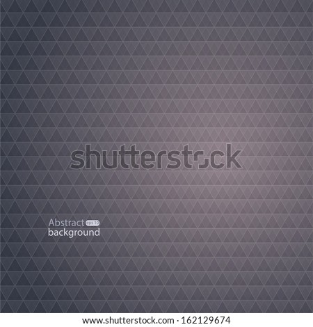 Abstract back background with a pattern of geometric shapes. With the effect of the spectrum and an copy place. Vector. - stock vector