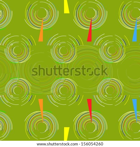 Abstract background a pattern with circles - stock vector