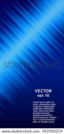 Abstract background advertising brochure design elements. Blurry light glowing graphic form for elegant flyer. Vector illustration EPS 10 for booklet layout, wellness leaflet, newsletters - stock vector