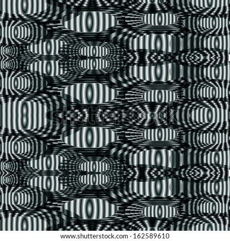 abstract background, black and white striped lines minimal background - stock vector