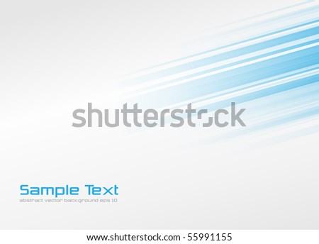 Abstract background, blue lines. - stock vector
