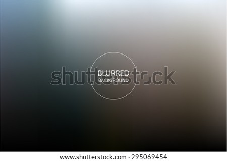 Abstract Background Blurred Image