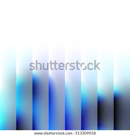 Abstract Background. Blurred Image and contrast vertical lines. - stock vector