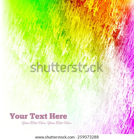 Abstract Background Colorful - stock vector