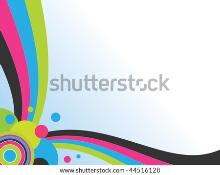 Abstract background consisting of an array of figures