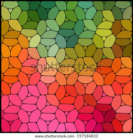 abstract background consisting of geometric shapes