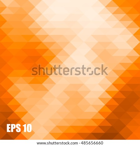 abstract background consisting of triangles Geometric .eps.10
