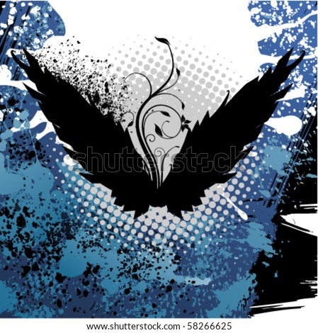 abstract background design - stock vector