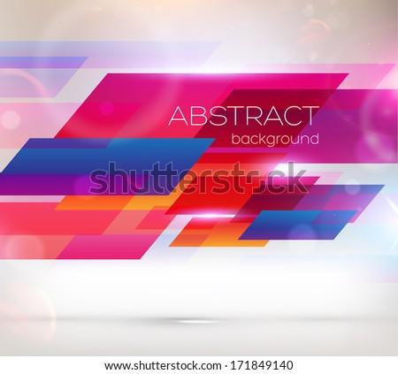 Abstract Background Design, Vector - stock vector