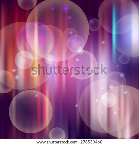 Abstract background design with bubble blower - stock vector