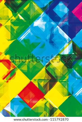 Abstract background. Eps10 .Image contain transparency and various blending modes - stock vector