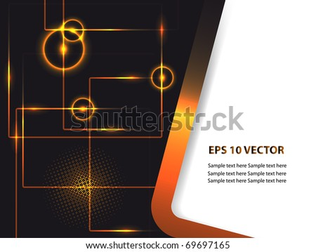 Abstract  background. EPS10 vector illustration. - stock vector