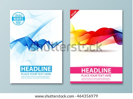 Abstract Background Flyer Brochure Poster Presentation Stock - Business card templates for pages
