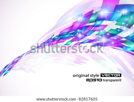 Abstract Background for business corporate flyers, elengant and original covers or advertising posters. - stock vector