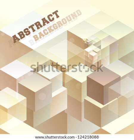 Abstract background for design - stock vector