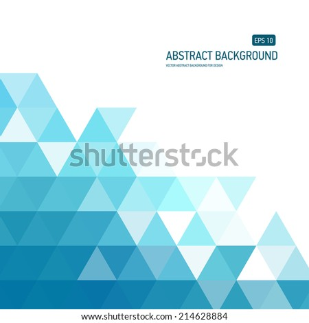Abstract background for design, business or printed products - stock vector