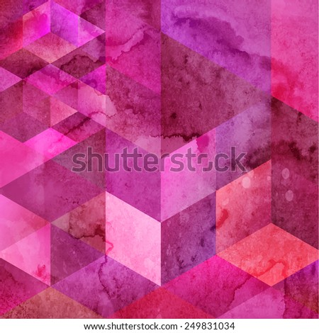 Abstract Background for Design. Geometric Pattern - stock vector