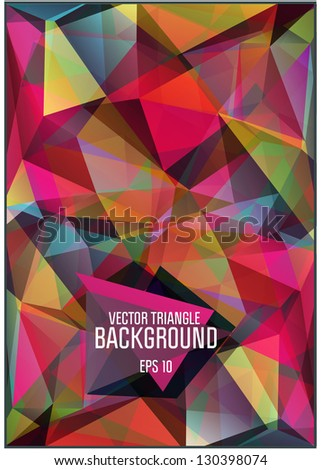 Abstract background for design - vector illustration eps 10 - stock vector