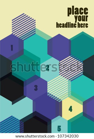 Abstract background for design/vector/lay out design - stock vector