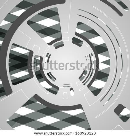 abstract background for futuristic tech design, dynamic illustration.