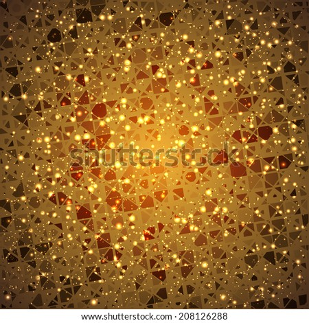 abstract background for your design with geometry effect - stock vector