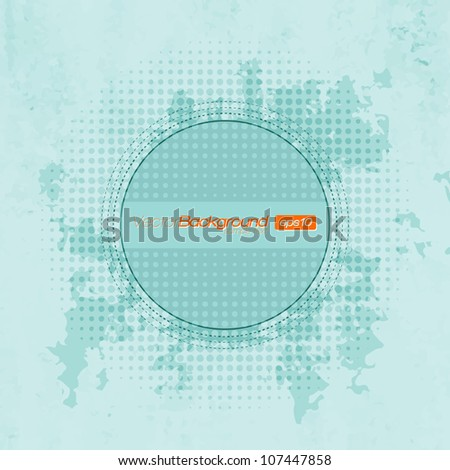Abstract Background for Your Text | EPS10 Design - stock vector