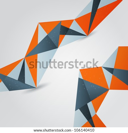 Abstract background. Graphic design - stock vector