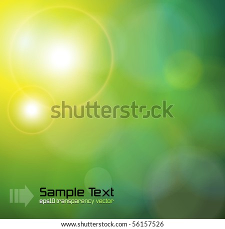 Abstract background green. Vector illustration. - stock vector