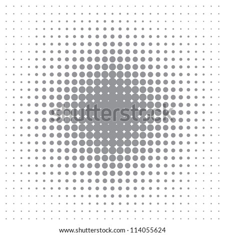 abstract background halftone effect (vector eps10) - stock vector