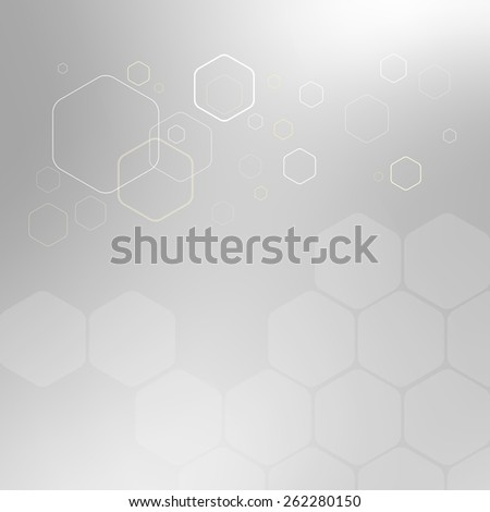 Abstract background hexagon. Vector illustration. Clip-art
