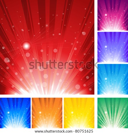 Abstract Background Illustration 10 document. - stock vector
