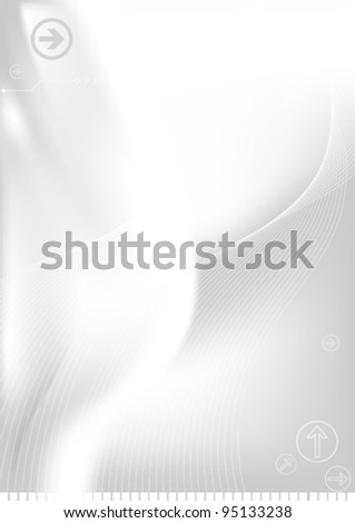 Abstract Background Illustration 10 document - stock vector