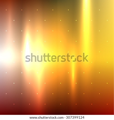 Abstract background in autumn color scheme. Vector eps10. - stock vector