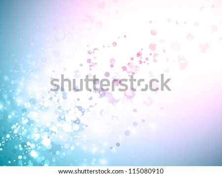Abstract Background In Blue and Pink With Copyspace for Your Text - stock vector