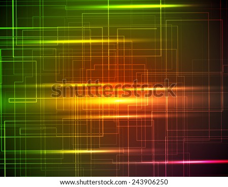 abstract background in bright color, excellent vector illustration, EPS 10