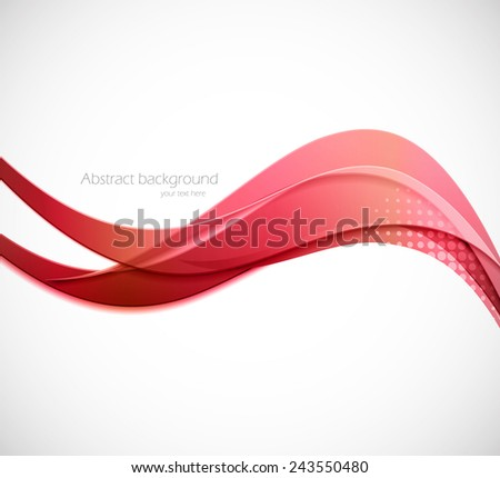 Abstract background in pink colors with light effect - stock vector