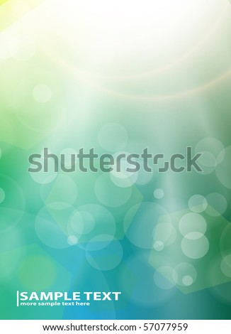 Abstract background light blue, vector illustration. - stock vector