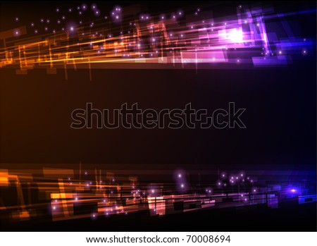 "abstract background  ""made of light collection"""