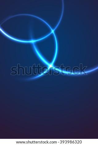 Abstract Background. Neon Effect. Vector. Eps10 - stock vector