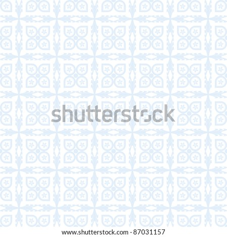 Abstract background of beautiful seamless floral pattern