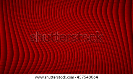 Abstract background of lines and rectangles in red colors
