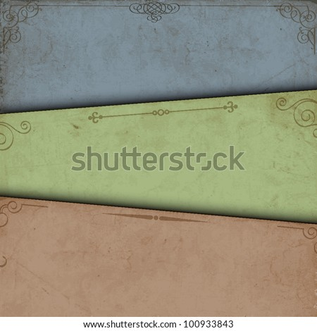 Abstract background of old paper.Vector eps10