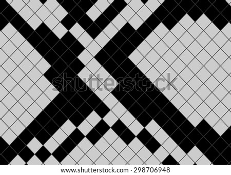 Abstract background of snake skin black and gray color