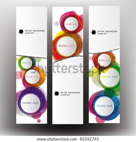 Abstract background on a lacerated paper - stock vector