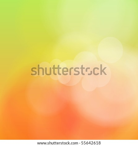 Abstract background orange blurry. Vector illustration. - stock vector