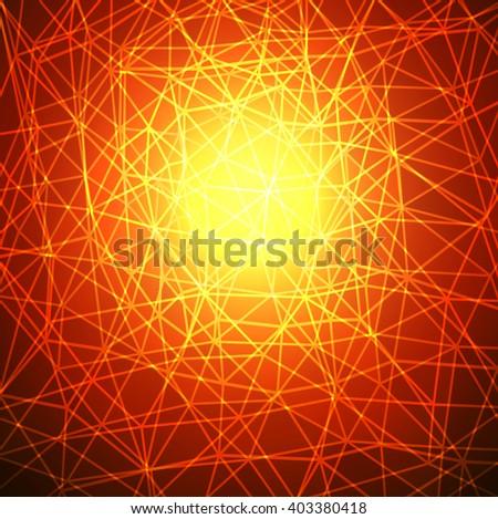 Abstract background orange texture design. - stock vector