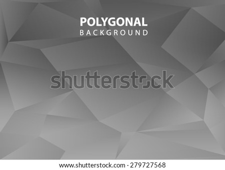 abstract  background ,Polygonal background black and white